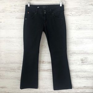 HUDSON Flap Pocket Black Bootcut Jeans 29